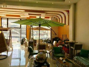 سایبان چتری رستوران ساحل