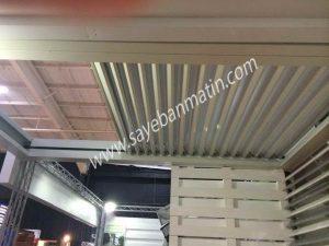 سقف جمع شونده برای اماکن مختلف