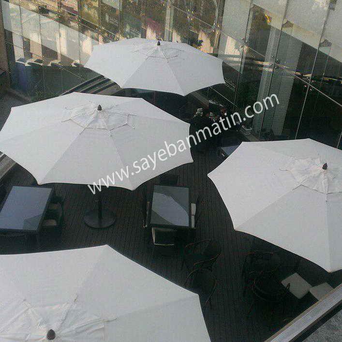 سایبان چتری رستوران مهیا