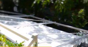 سقف برقی ساخته شده توسط سایبان متین