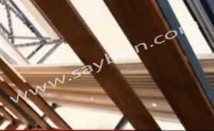 سقف متحرک رستوران رستا (بام لند)