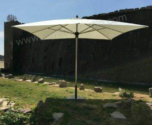 سایبان چتری استنلس استیل هشت ضلعی قطر 3 متر