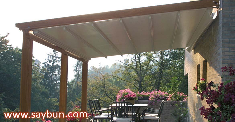 درمان افسردگی پاییز با سایبان برقی ، سقف برقی