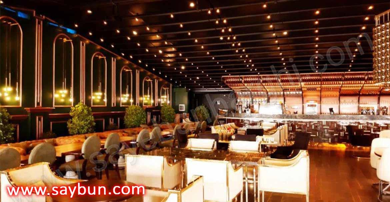 سقف برقی رستوران روبل