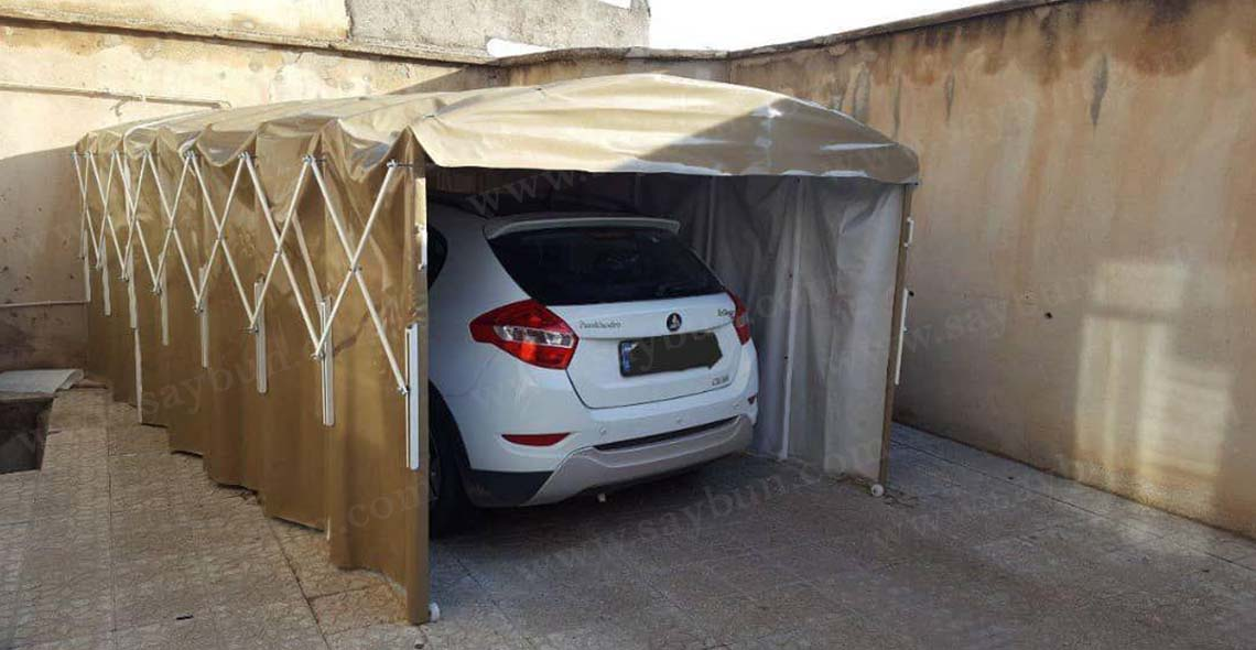 سایبان پارکینگ جمع شو