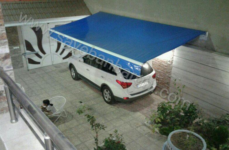 سایبان پارکینگ تاشو